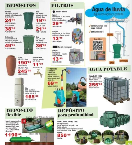 Deposito agua slim sistema de recuperaci n de agua de la - Depositos agua lluvia ...