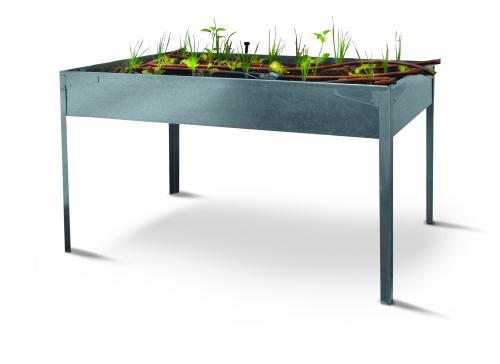 Mesas de cultivo especial huerto urbano mediafer for Mesas de cultivo urbano