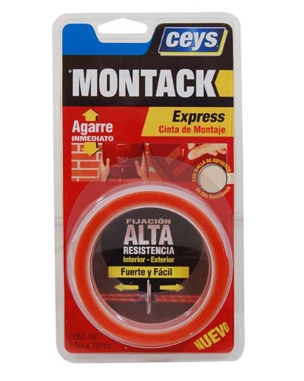 Armario Giratorio Cocina ~ Montack express de Ceys Adhesivo de montaje en tubo o cinta! MediaFer u2013 Ferreteria Diaz