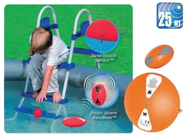 protege a los ni os con la alarma para piscinas bestway