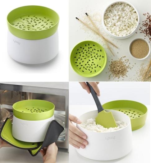 cocedor arroz lekue