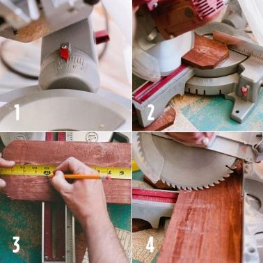 paso 1 panal madera estante