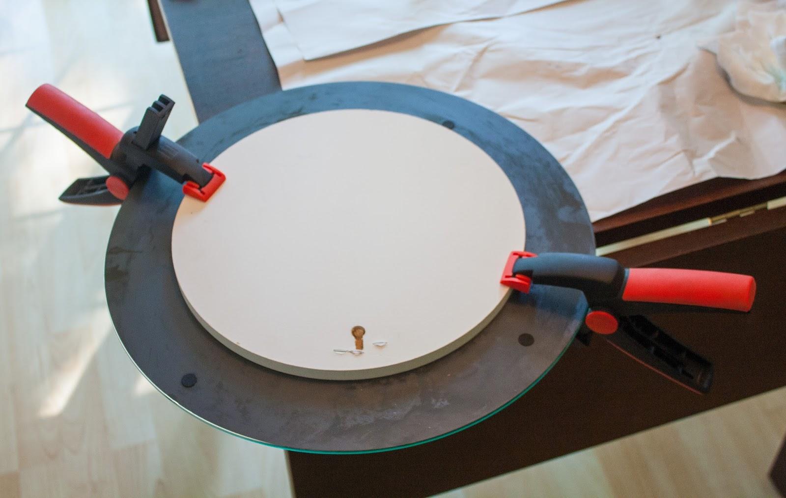 Proyecto decorativo crea tu propio espejo starburst for Espejo para pegar en puerta