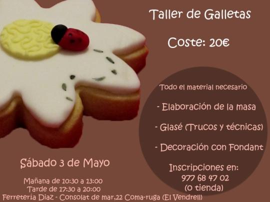 taller galletas 3 de mayo