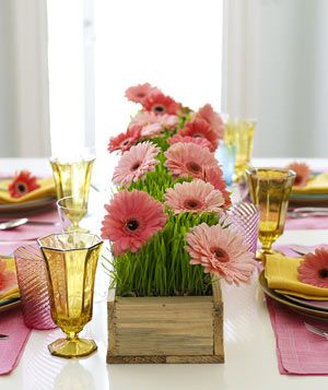 flower table