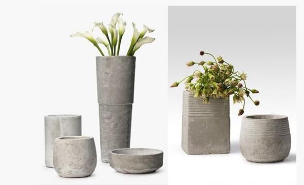 Maceteros con estilo!! Cómo hacer macetas decorativas con cemento ...