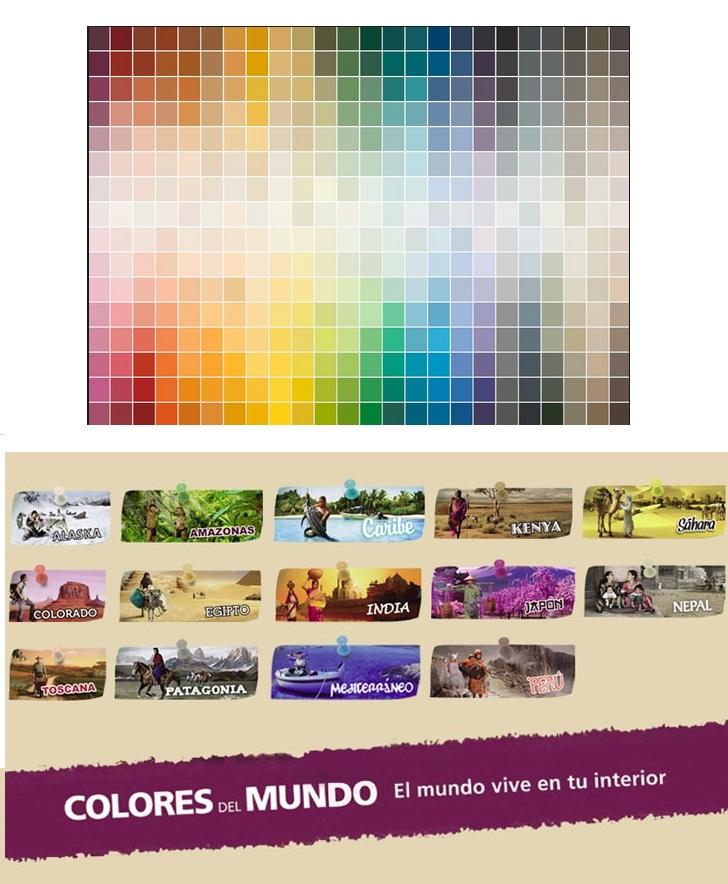 Decora tus paredes con colores y efectos degradados hoy - Colores del mundo de bruguer ...
