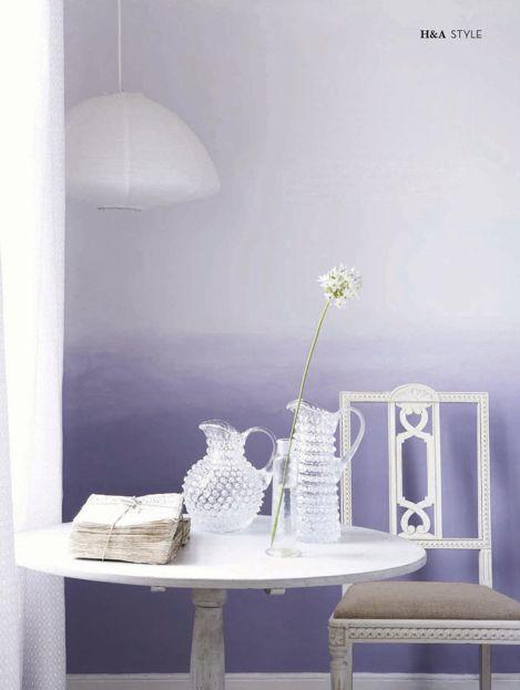 decora tus paredes con colores y efectos degradados hoy colores del mundo de bruguer mediafer. Black Bedroom Furniture Sets. Home Design Ideas