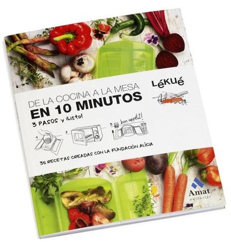 libro recetas en 10 minutos lekue