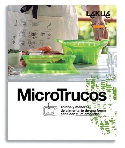 Libro recetas lekue microtrucos