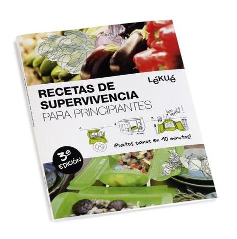 libro recetas supervivencia lekue