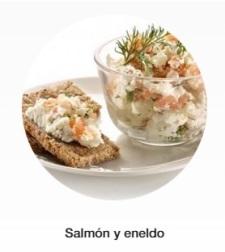 salmon y eneldo