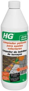 limpiador potente de suelos exteriores hg