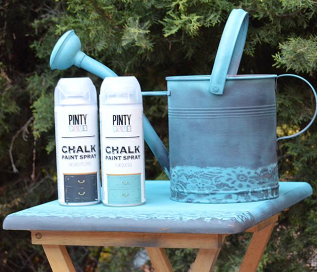 Chalk paint en spray f cil y r pido pintura a la tiza - Pintura de tiza ...