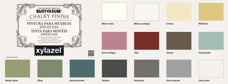 Dale un toque diferente a tus muebles con chalky finish de for Blanco tiza pintura
