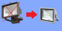 foco-halogeno-frente-foco-led