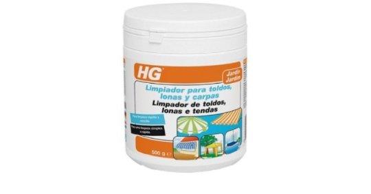 4 productos estrella para la limpieza de exterores hg for Limpiar toldos lona